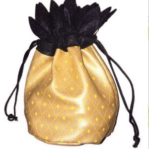 Handbags - Yes!This is happening! Pineapple drawstring pouch